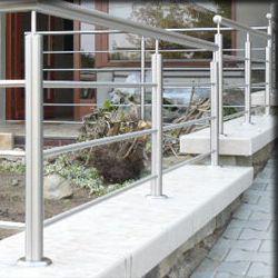 Balkonové zábradlí nerez